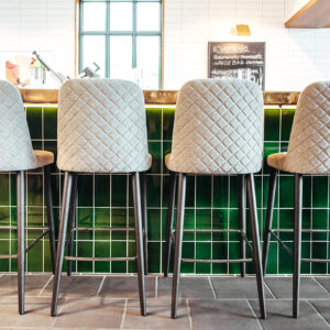 Bloom barstools from Beaufurn