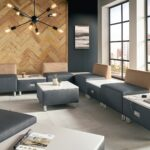 retirement home lounge collection by Beaufurn