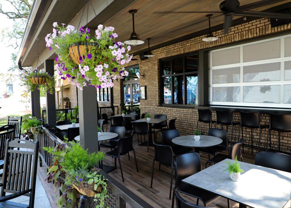 outdoor resin tabletops