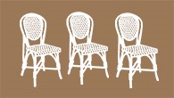 Indoor French Bistro Chairs