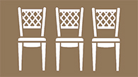 Outdoor French Bistro Chairs
