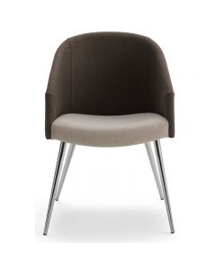 Belle-4L 4 Leg Base Arm Chair