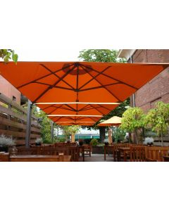 P6-DUO-Square All Weather Umbrella