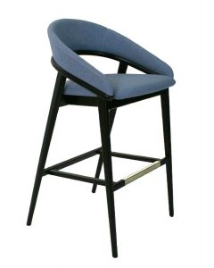 Finley Barstool with Upholstered Back