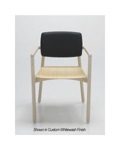 Zot Armchair UPH Back Wood Seat PL 04